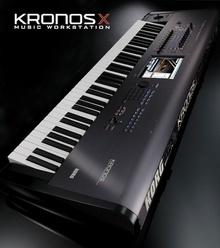 KORG kronos X-61 2015 черный