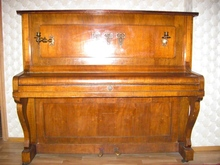 ED. Seiler 1910 год антикварное пианино