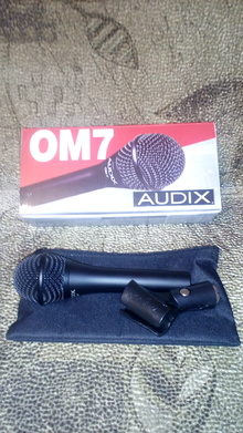 Audix OM7  Black