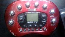 LINE 6 POD X3 V2 2012 красный