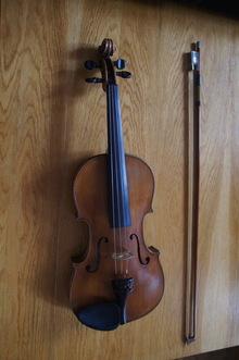 Antonius Stradivarius Cremonensis Faciebat Anno 1736 4/4 1950 коричневый