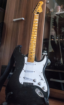 Indy Custom Heavy Relic Strat