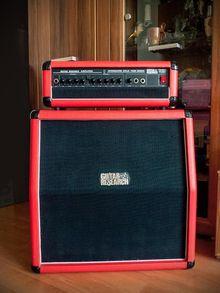 гибридный (ламповый/транзисторный) полустек Guitar Research T64RS