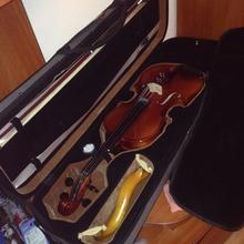 Скрипка целая 2015 коричневый
