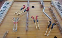 Цимбалы Прима + 4 комплекта молоточков и настроечный ключ
