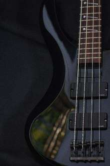 Jackson Chris Beattie Signature Bass 2005 BLACK