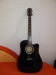 Squier by Fender  SA - 105 CE  чёрный