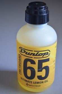 Dunlop 65 лимонное масло