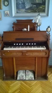 Фисгармония Механическая 1912 коричневый
