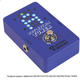 Guitar Tech GTE-004 Dot Matrix Pedal Tuner 2015 Синий