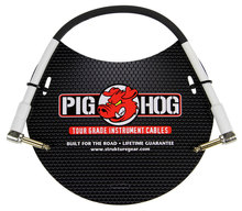 "Pig Hog PH1RR 1ft 1/4"" -1/4"" 8mm Instrument Cable"