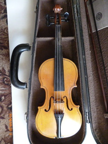 Скрипка 1/4 1981 коричневый