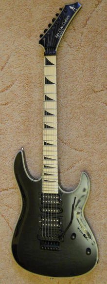 Sin City Guitars  Model 3 2010
