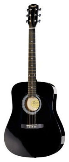 Squier By Fender - Sa-105 Bk Акустическая гитара