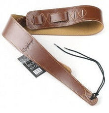 Epiphone - St-300 Deluxe Leather Strap Brown 2,5