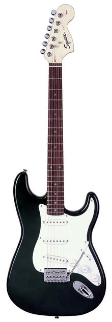 Squier By Fender - Affinity Stratocaster Black Электрогитара