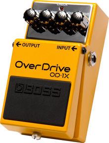 Педаль эффектов Boss Od-1X Overdrive