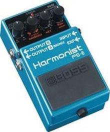 Педаль эффектов Boss Ps-6 Harmonist