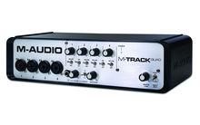 Аудиоинтерфейс M-Audio MTrack Quad (MTrackQuad)