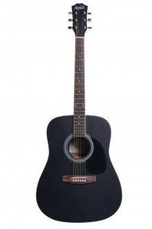 Акустическая гитара Rockdale Sdn-Bk Dreadnought