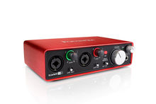 Аудиоинтерфейс Focusrite Scarlett 2I2 New