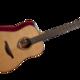 гитара акустическая lag tramontane t100d Черный
