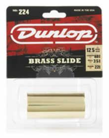 DUNLOP 224 Brass Heavy Medium (22 x 29 x 60mm, rs 12-13) слайд для гитары латунный