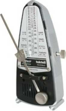 WITTNER 838 Taktell Piccolo silver-coloured метроном механический