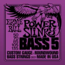 Струны для 5-стр.бас-гитары 50-135 Ernie Ball Inc. P02821