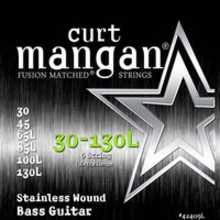 Curt Mangan 42409L Extra Long Stainless Bass 6-String 30/130