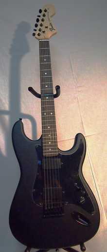Fender Double Fat Stratocaster  Black