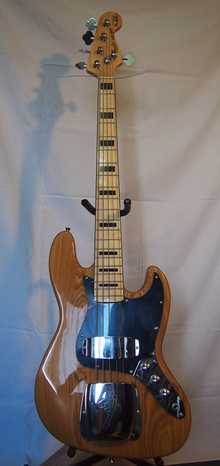Fender Jazz Bass 5-strings Marcus Miller  Ash