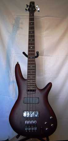 Ibanez SR 300 Bass  Iron pewter