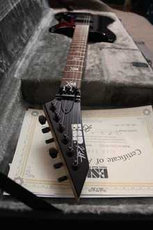 ESP KH-2 Neck Thru  2013 Чёрный