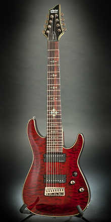 Schecter  Damien Elite-8 2009 Crimson Red