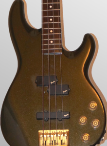Fender Precision Lyte Bass 1992 Black Metallic