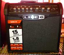 Line 6 Spider IV 15 2012 Black