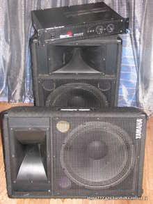 Yamaha + Biema колонки (YAMAHA S-115 III EH) + усилитель Biema W330 II