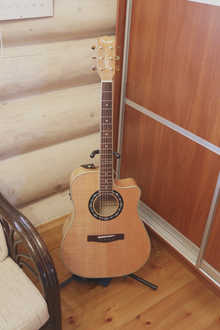 Fender T-bucket 400CE 2014 Светлое дерево