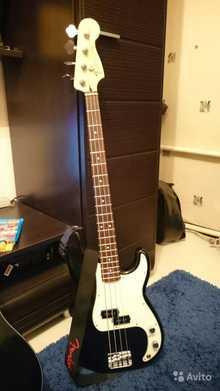 Fender Standard Precision Bass 2012 RW Black Tint