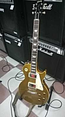 Gibson Les Paul reissue gold top1957 2003 Gold top