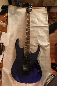 Ibanez RG370DX 2005 тёмно синий