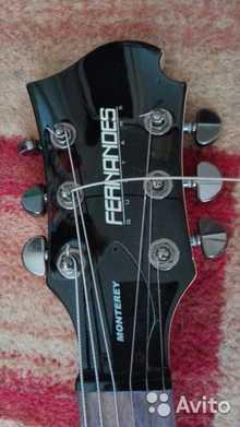 Fernandes Guitars MX08 BLK Monterey X 2013  черный