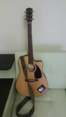 Fender  CD-100CE 2014 Светлый
