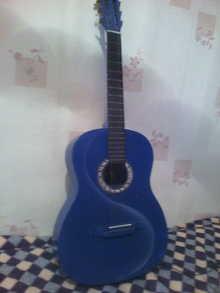 Гитара   Синий