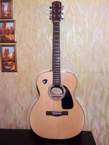 Fender cf 60 2015 натуральный