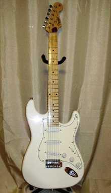 Fender Custom Shop Stratocaster  Arctic White