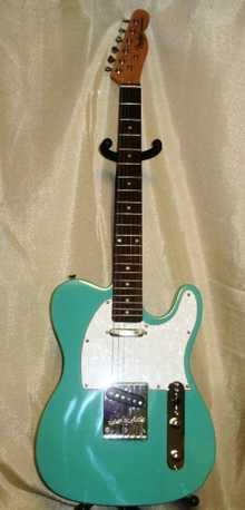 Fender American Standart Telecaster   Green Seaform
