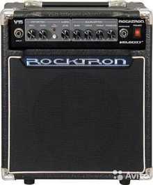 Rocktron Velocity  V15 2013 чёрный/под кожу