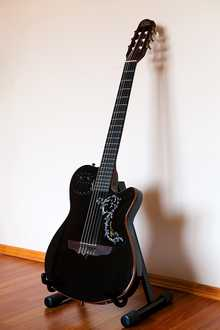 Godin ACS SLIM (SA) BLACK  2009 черный